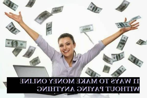 How To Make Money Online With No Money At All